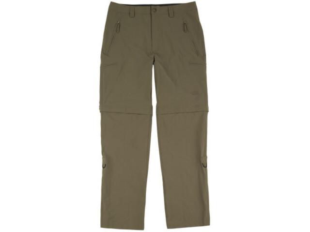 The North Face Men's Trekker Convertible Pant-Alpine Reg., brown